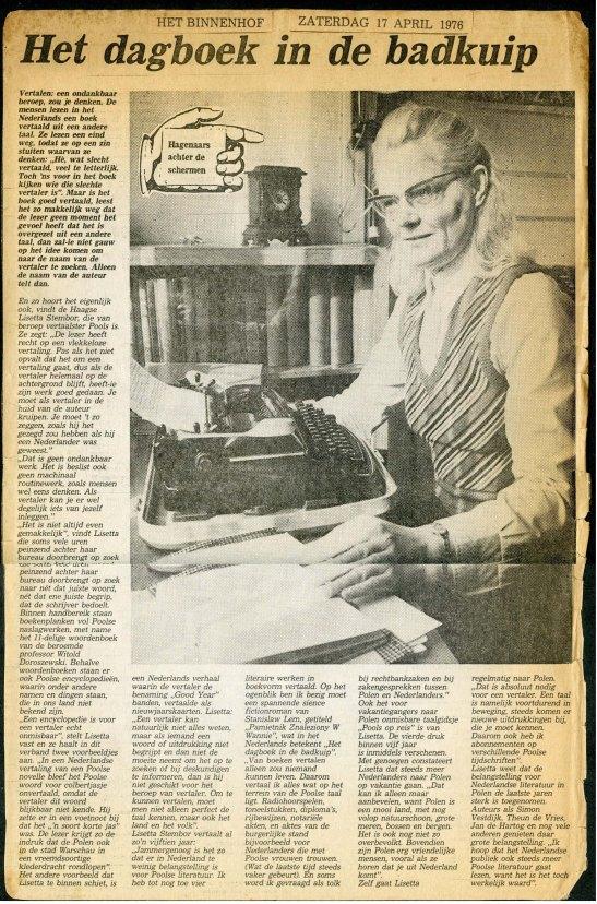 lisetta stembor 17 april 1976